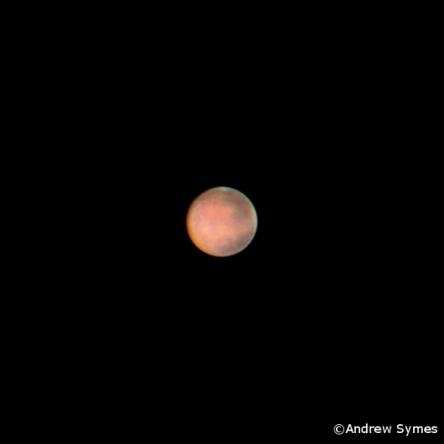 Mars opposition iphone 2014