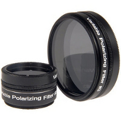 Variable Polarizing Moon Filter