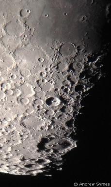 Tycho Clavius Moon iPhone