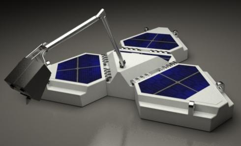 Northern Light Lander and Robotic Arm